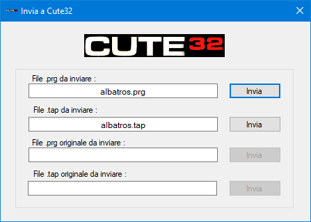 Form invio a CUTE32
